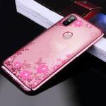 Оригинал BakeeyОбложкадлядиамантаЧистаяобложка Soft ТПУ Цветочная защитная Чехол Для Xiaomi MiMAX3