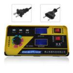 Оригинал 12 / 24V Авто Батарея Зарядное устройство Полное автоматическое интеллектуальное восстановление импульсов US / EU Plug