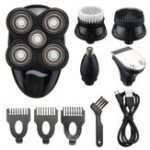 Оригинал 5 In1 Wet Dry 4D Электробритва Бритва для мужчин Водонепроницаемы