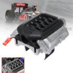 Оригинал GRC Двигатель Имитационный радиатор F11 V8 5.0 Мотор Охлаждающий вентилятор для 1/10 Traxxas TRX-4 TRX4 Rc Авто Запчасти