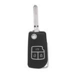 Оригинал 3 Кнопки Складной ключ Дистанционный Чехол Корпус с лезвием для Toyota Camry Corolla Reiz RAV4
