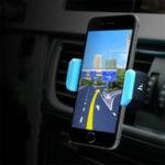 Оригинал HOCOСильныйпружинныйрегулируемыйзажим360 градусов вращения Авто Держатель для мобильного телефона Xiaomi Samsung