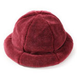 Оригинал Women Winter Thick Warm Cashmere-like Bucket Cap