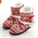 Оригинал ЖенскаяSoftПлюшеваятеплаядомашняядомашняя тапочка Ботинки Обувь