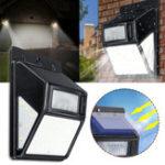 Оригинал Солнечная Мощность 35 LED PIR Движение Датчик Сад Охранный свет На открытом воздухе Двор Лампа