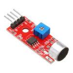 Оригинал 10 шт. KY-037 4pin Voice Sound Detection Датчик Модуль Микрофон Передатчик Умный Робот Авто для Arduino