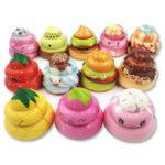 Оригинал Шоколадный какашка Squishy 8CM Вкусный подарок Kawaii Jumbo Gift Collection с упаковкой