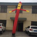 Оригинал 3 м / 6 м Надувная Реклама Трубка Человек Воздуха Sky Танцующий Кукольный Флаг Дурацкий Волнистый Ветер Человек Украшения