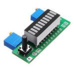Оригинал 3шт. Зеленый LM3914 Батарея Модуль индикатора емкости LED Тестер уровня мощности Дисплей Board