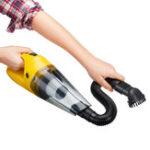 Оригинал 2200Mah Желтый 120W 100V до 240V Беспроволочный сухой и влажный Авто Домашний Vaccum Cleaner