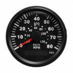 Оригинал 85 ММ GPS 80MPH 130 км / ч Спидометр Датчик Одометра Для Грузовика Авто мотоцикл Лодка