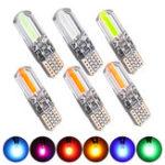 Оригинал T10 LED Авто Габаритные габаритные огни на клине Silica Гель Лампа 12 В 1.5 Вт 260LM Canbus Error Free