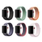 Оригинал KALOAD 42 мм 6 цветов Loopback Nylon Smart Watch Стандарты Замена браслетов для Apple Watch 1/2/3/4
