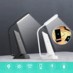Оригинал 2 in1 USB LED Стол Стол Лампа QI Беспроводное Зарядное Устройство Для Чтения Света Для Изучения