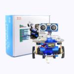 Оригинал Mini Crabot Cratch Программируемый обучающий смарт-робот DIY Набор для Arduino с ручкой Дистанционный / Инфракрасный Дистанционное Управление Поддержк