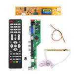 Оригинал T.RD8503.03 Универсальный LCD LED ТВ-контроллер Драйвер платы TV / PC / VGA / HDMI / USB + 7 клавиш + 1 шт. Лампа Инвертор