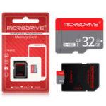 Оригинал MicroDrive 16GB 32GB 64GB Class 10 Высокоскоростная карта памяти TF с адаптером SD Card для мобильного телефона