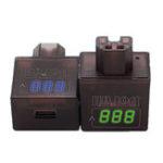 Оригинал BIKIGHT36V/48V/60V / 72V / 84V / 120V Electric Авто Зарядное устройство USB для мобильного телефона 5V 2A с напряжением Дисплей