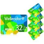 Оригинал Wellendorff4GB8GB16GB32GB64GB Класс 10 Высокоскоростная карта памяти TF для мобильного телефона Tablet PC