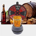 Оригинал Spinner Spin The Shot Поворотный стол Стекло Алкоголь Питьевая Игра Рулетка Настольная Игра Игрушка Вечеринка