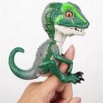 Оригинал Кончик пальца Интерактивный ребенок Динозавр Smart Touch Induction Pet Симпатичные висячие кукольные новинки игрушки