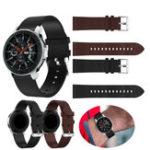 Оригинал KALOAD 22мм Кожаные часы Стандарты Замена ремешков браслетов для Samsung Galaxy Watch 46мм