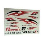 Оригинал Volantex Phoenix V2 759-2 2000 мм Размах крыльев RC запасная часть для самолета Наклейки 1 шт.