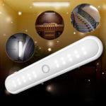 Оригинал Портативный беспроводной 20 LED Шкаф Night Light Motion PIR Датчик Шкаф под Лампа