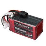 Оригинал AHTECH Infinity RS Force V2 22,2 В 1300 мАч 120C 6S Lipo батарея XT60 Разъем для FPV RC Дрон