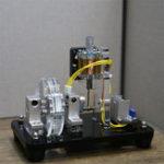 Оригинал 12V с одной катушкой электромагнитная поршневая Мотор DIY электронная Набор дети творческая наука игрушка