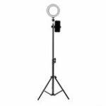 Оригинал 16см LED видео кольцо света 5500K с возможностью затемнения с 160см регулируемая подставка света