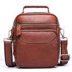 Оригинал Men Genuine Leather Business Casual Large Capacity Bag