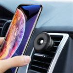 Оригинал BaseusСильноемагнитноевращениена360 градусов Авто Держатель вентиляционного отверстия для iPhone Xiaomi Mobile Phone