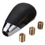 Оригинал Универсальный Real Carbon Fiber Pu Leather MT Ручка переключения передач