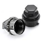 Оригинал 1/5/10/20 x 24mm Plastic Wheel Lug Nut Cover Cap