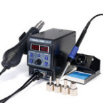 Оригинал YIHUA 8786D I Модернизация паяльной станции Digital Дисплей Утюг SMD Heat Hot Air Пайка Сварка станка
