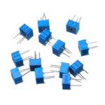Оригинал 13шт 100R-1M каждый 1 3362 пакет потенциометра 3362P регулируемый резистор