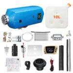 Оригинал 12V 8KW LCD Switch Diesel Air Нагреватель Набор Авто Дизельная парковка Нагреватель 10L Tank Авто Нагревательное оборудование