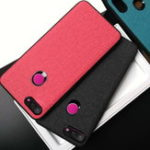 Оригинал BakeeyТканьПК+КожаPU + Soft ТПУ Бампер Защитный Чехол для Xiaomi Mi 8 Lite 6,26 дюйма