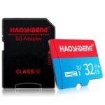 Оригинал HAOSHIDENG16GB32GB64GBВысокоскоростнаякарта памяти TF класса 10 с адаптером SD-карты для мобильного телефона