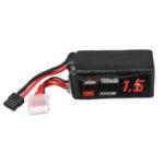 Оригинал URUAV 22,2 В 1500 мАч 100C 6S Lipo Батарея XT60 Разъем для FPV RC Дрон