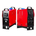 Оригинал 5000W 12V Air Diesel Нагреватель 1/4 Отверстия LCD Монитор PLANAR Дистанционное Управление Для Грузовика Лодка