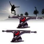 """Оригинал 1 пара 180мм 7 """" 43 градусов Longboard Trucks Электрический скейтборд Вешалка Запчасти"""