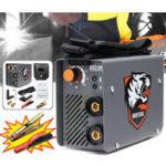 Оригинал ZX7-200 220 В 200A 4000 Вт Мини MMA / ARC Инвертор IGBT электросварочный аппарат с 2шт Зажим