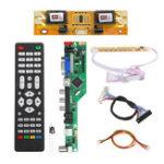 Оригинал T.RD8503.03 Универсальный LCD LED Плата драйвера ТВ-контроллера TV / PC / VGA / HDMI / USB + 7 клавиш + 2-канальный 8-битный 30-битный LVDS + 4 Лампа инвертор