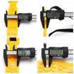 Оригинал Универсальная ширина от 165 до 275 мм противоскользящая Авто Snow Tyre Chain Truck SUV Emergency Инструмент