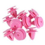 Оригинал Розовый Nylon Зажим панели обивки Авто Зажим для крепления Hyundai Kia