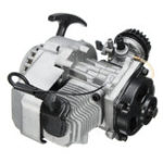 Оригинал 49cc 2-Stroke Pull Start Engine Motor For Pocket Mini Dirt Bike ATV Scooter