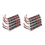 Оригинал 10Pcs URUAV 3.8V 300mAh 40 / 80C 1S HV 4.35V PH2.0 Lipo Батарея для Eachine TRASHCAN Snapper6 7 8 US65