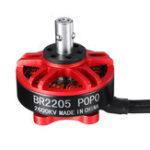 Оригинал Racerstar BR2205 ПОПО 2300KV 2600KV 2-4S Бесколлекторный мотор для RC FPV Racing Дрон